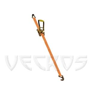 Стяжной ремень (ширина 100 мм) с крюками
