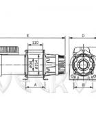 Электрическая лебедка CP-300