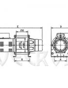 Электрическая лебедка CWG-10077