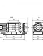 Электрическая лебедка CWG-500TH