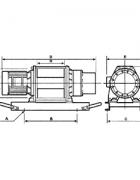 Электрическая лебедка CWG-30750