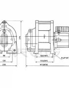 Электрическая лебедка CWL-200L