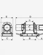 Электрическая лебедка KDJ-500E1