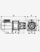 Электрическая лебедка KDJ-300E