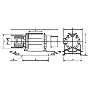Электрическая лебедка CWG-30565