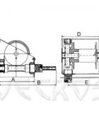 Лебедка ручная червячная ЛРЧ-500